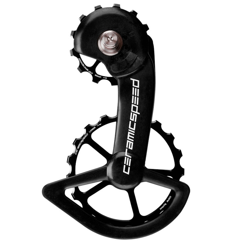 CeramicSpeed OSPW Pulley Wheels for Shimano 9100/9150/8000 SS/8050 SS - black