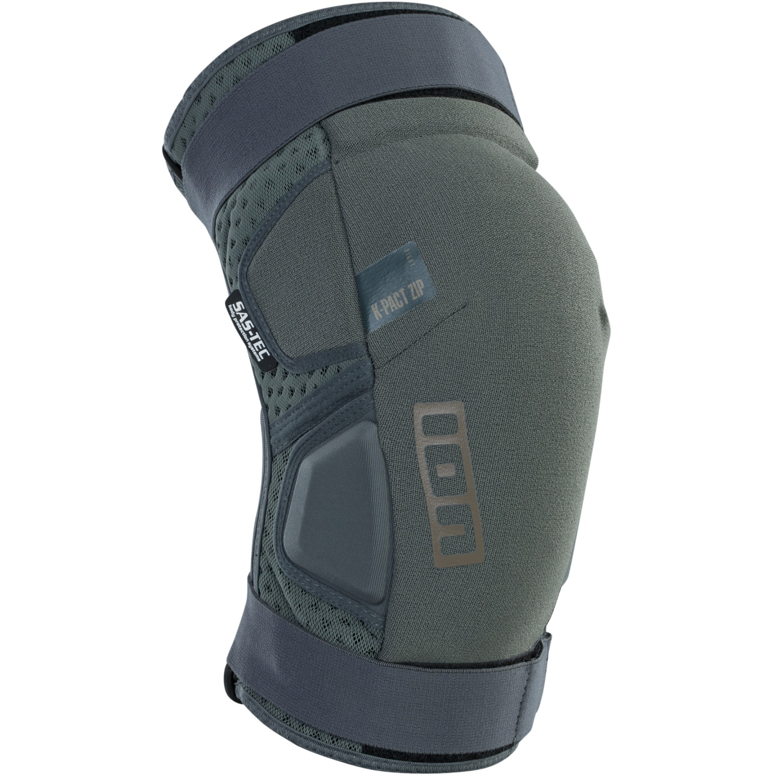Produktbild von ION Bike Protection K-Pact Zip Knieschoner - Thunder Grey