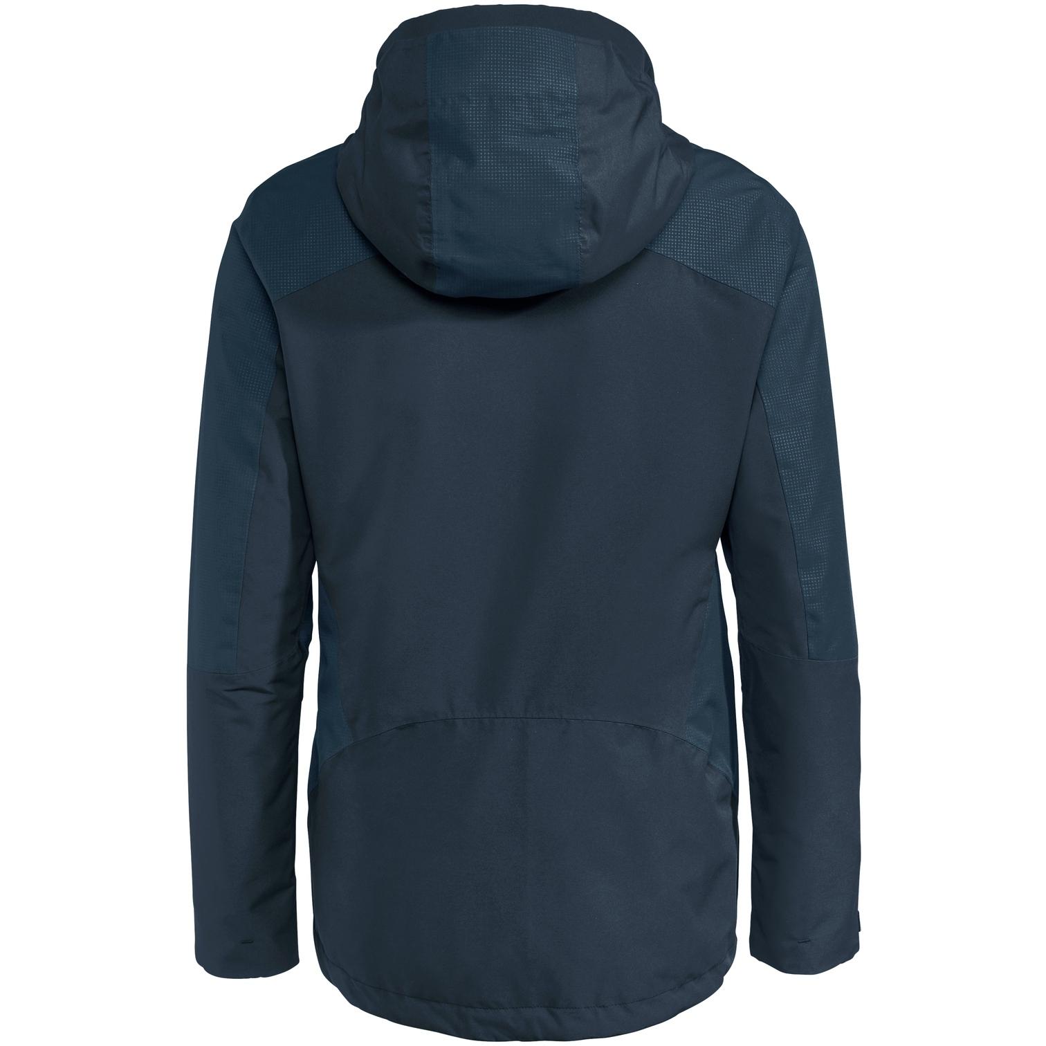 Image of Vaude Women's Elope 3in1 Jacket - dark sea