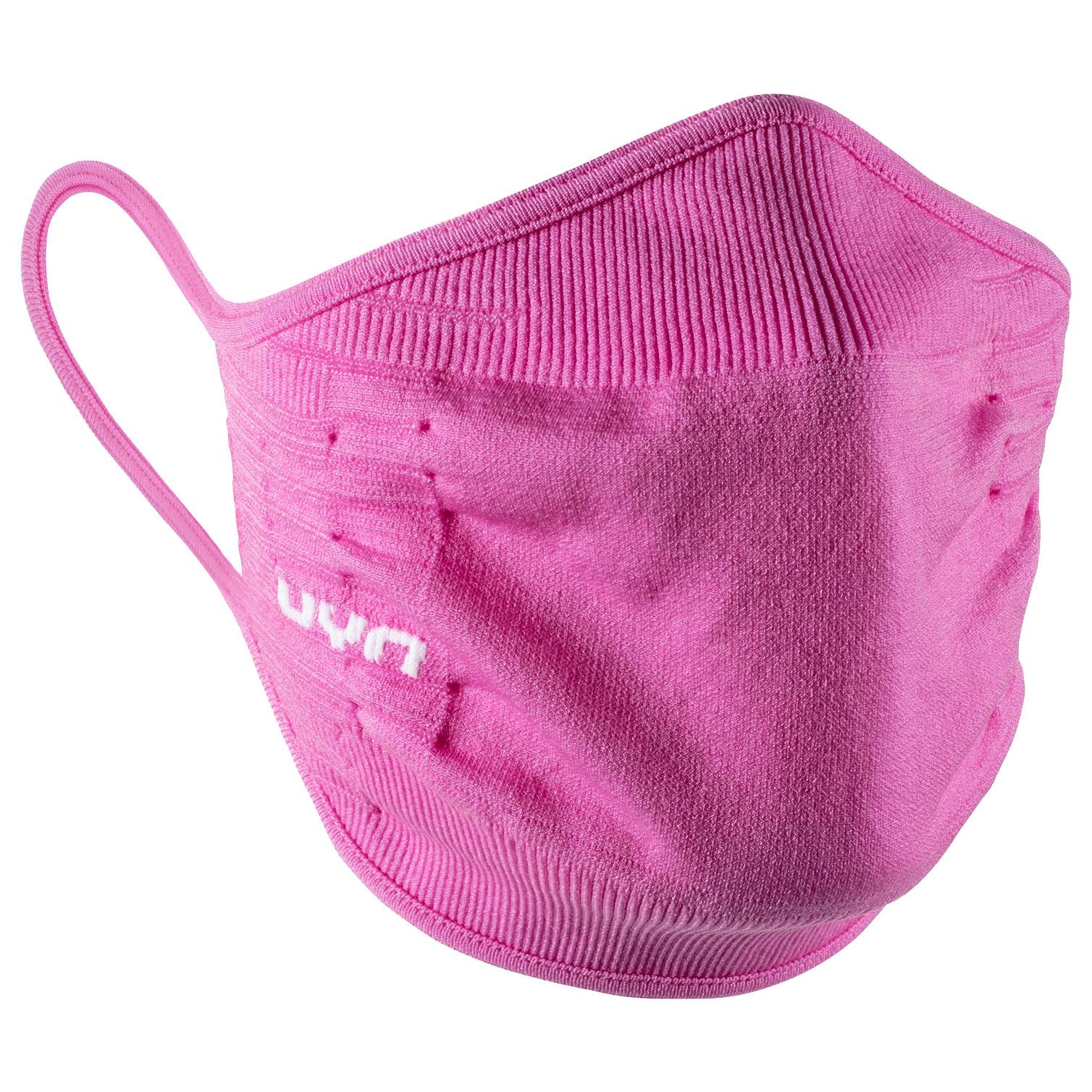 UYN Community Mask Unisex Gesichtsmaske - bright pink