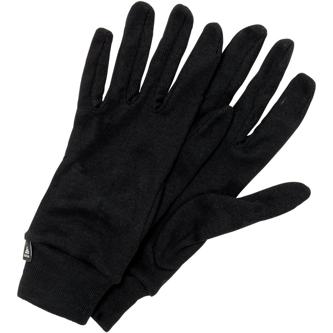 Produktbild von Odlo The Active Warm ECO Handschuhe 762740 - 15000 black