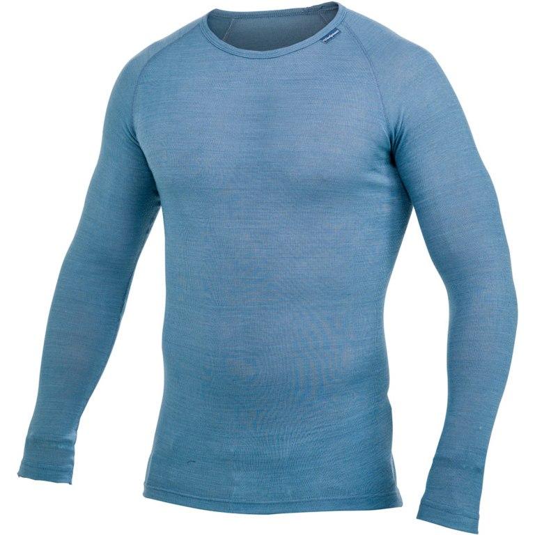 Woolpower Crewneck Unisex LITE Undershirt - nordic blue