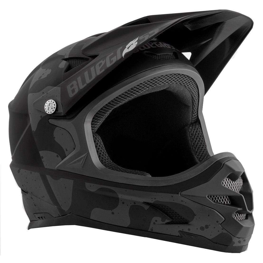Bluegrass Intox Fullface Helmet - camo black