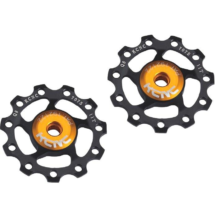 Bild von KCNC Jockey Wheels Aluminium Schaltungsrädchen (Paar)