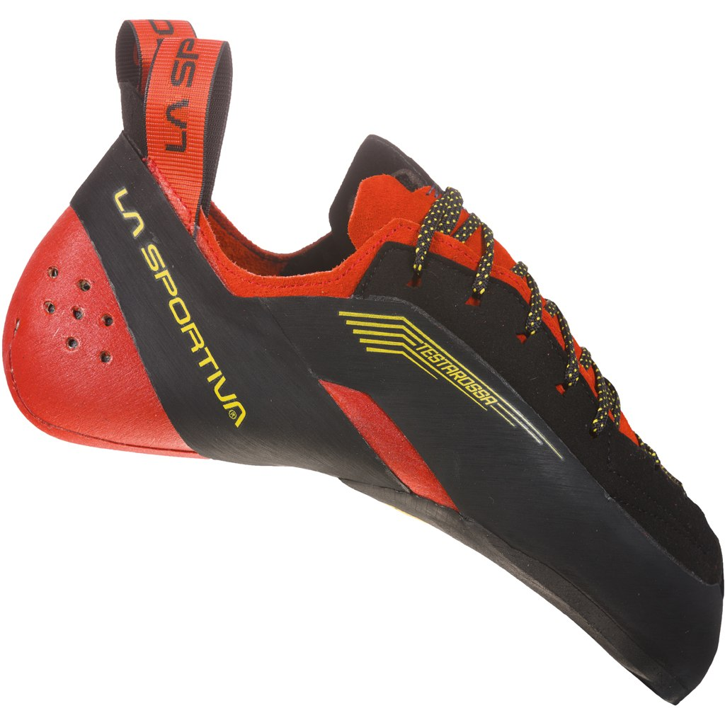 La Sportiva Testarossa Climbing Shoes - Red/Black