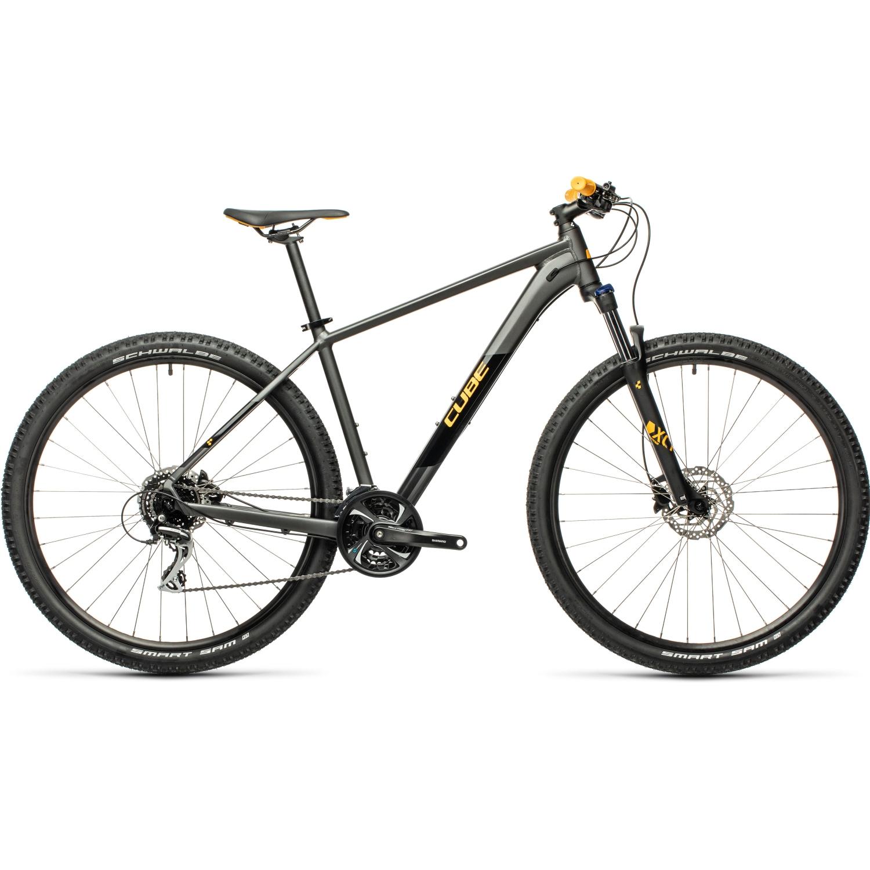 CUBE AIM RACE - Mountainbike - 2021 - dark grey/orange