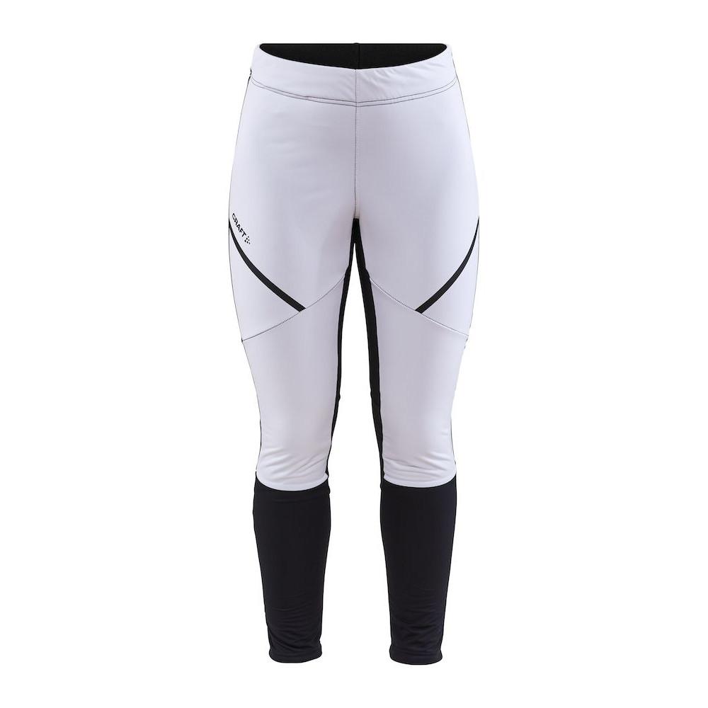 CRAFT Glide Wind Women's Tights - White/Black