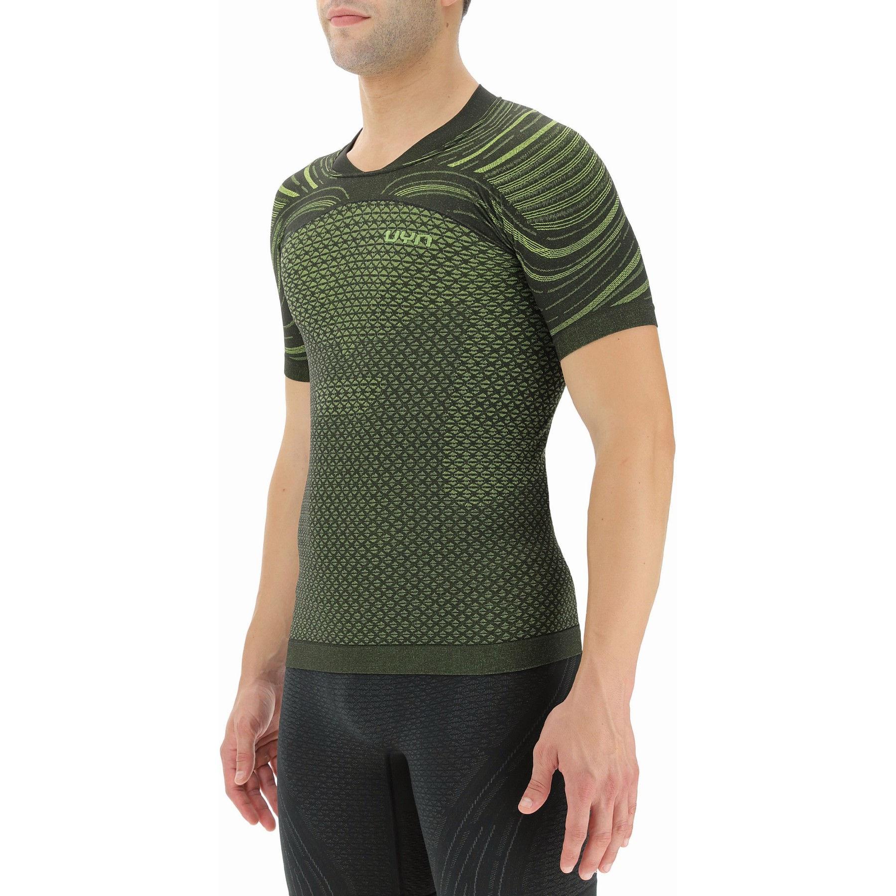 Bild von UYN Alpha Coolboost Running T-Shirt - Ultra Lime/Lizard