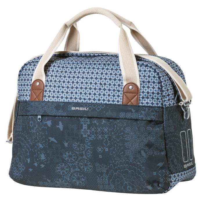Basil Bohème Carry All Bag - Bike Shoulderbag - indigo blue