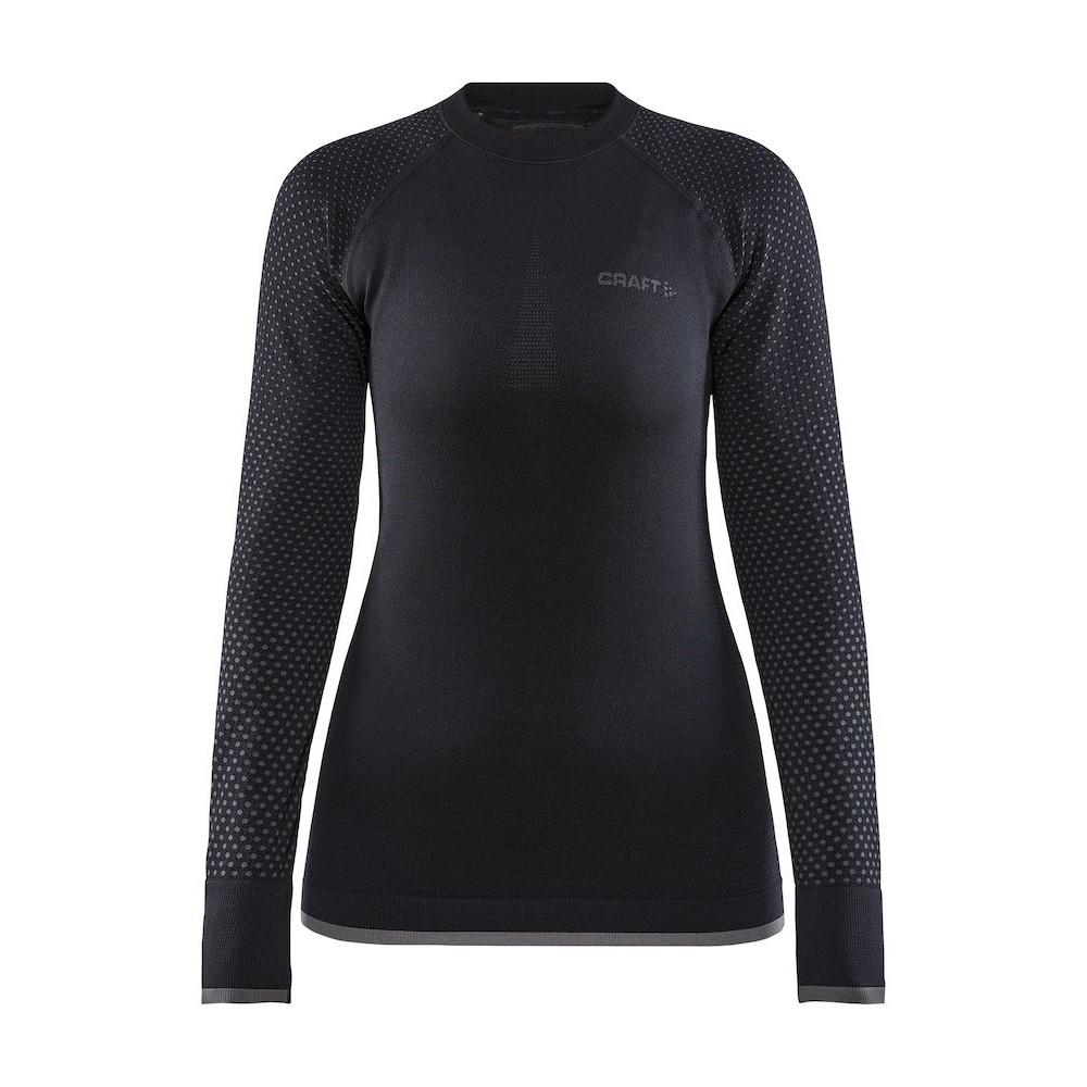 Image of CRAFT ADV Warm Fuseknit Intensity Women's Longsleeve 1909735 - 999000 Black