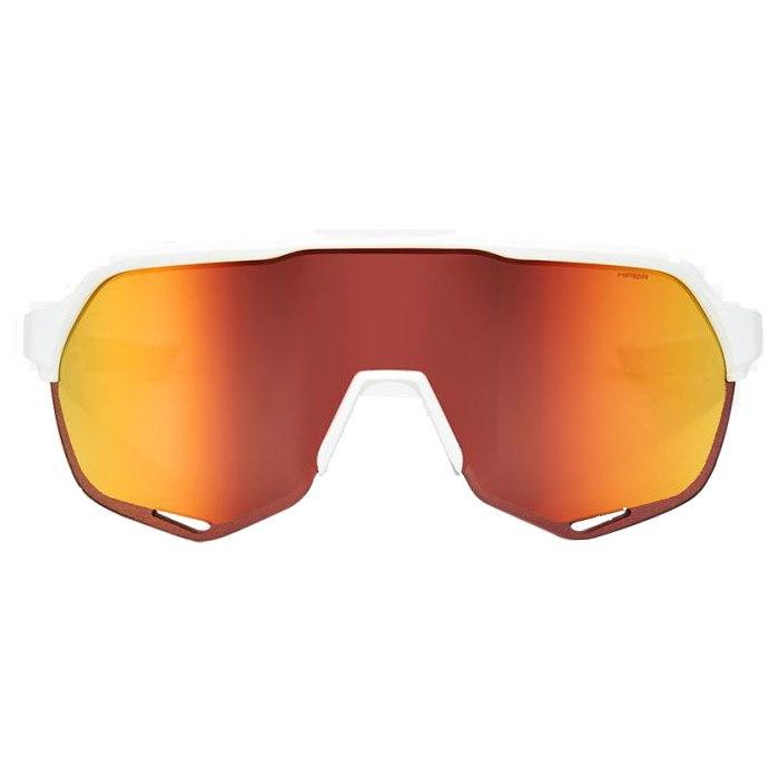 Imagen de 100% S2 HiPER Mirror Lens Gafas - Soft Tact Off White HiPER Red