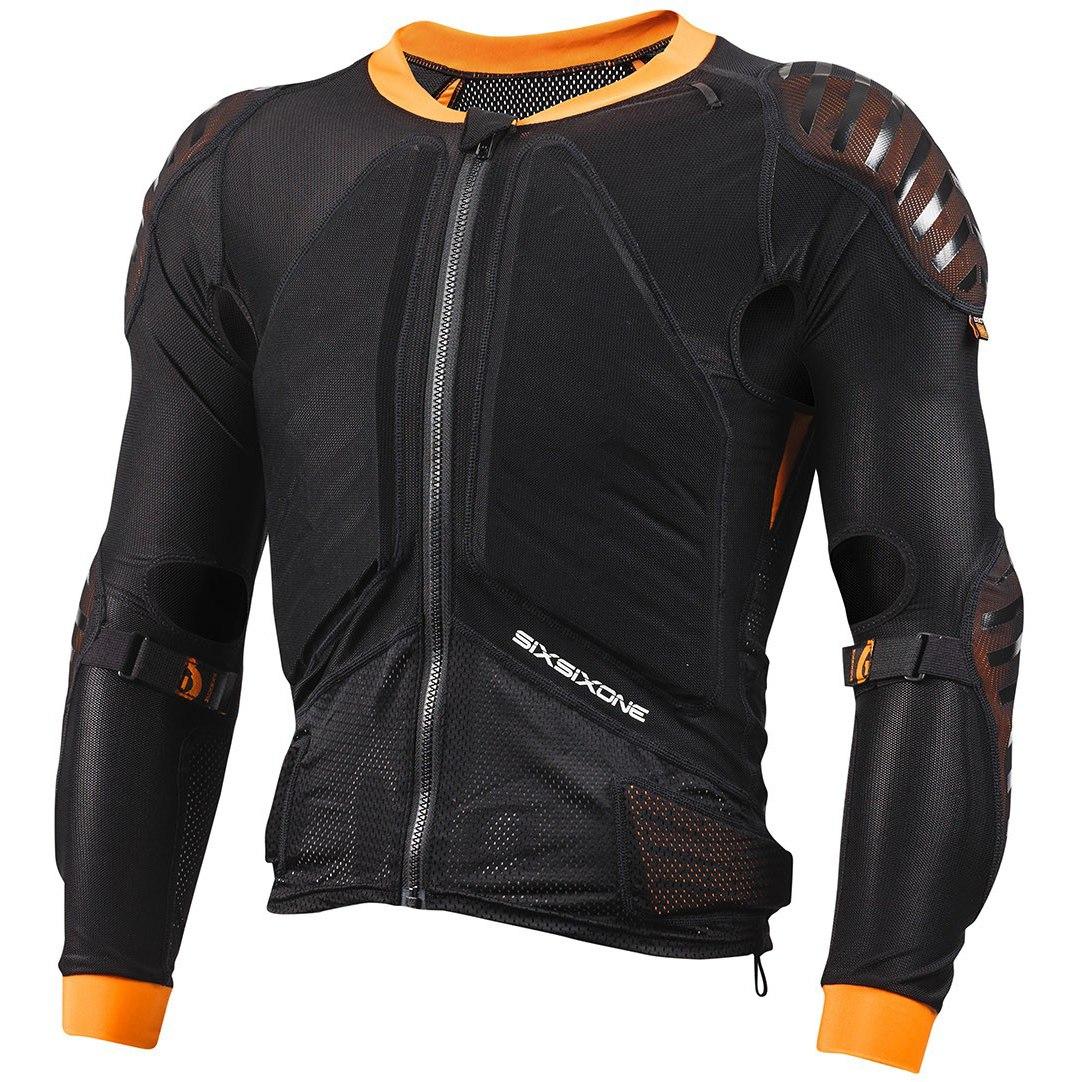 SIXSIXONE Evo Compression Jacket, langarm Protektorenjacke - black