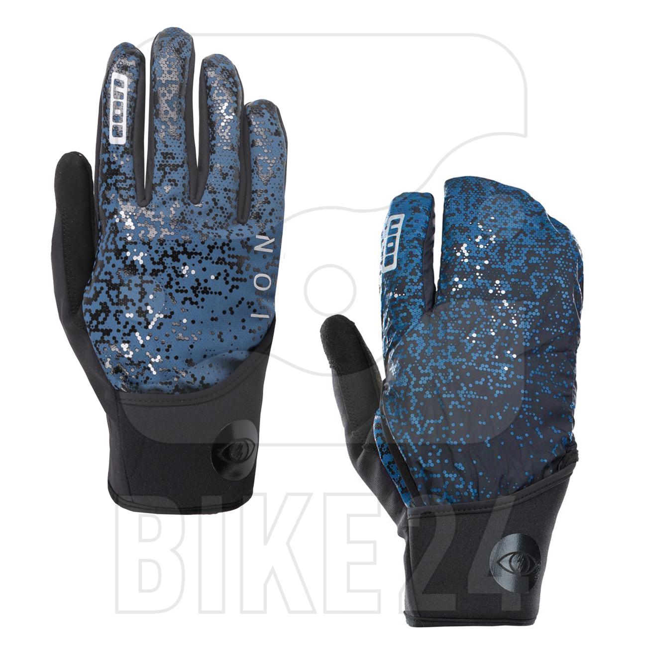 Produktbild von ION Bike Fahrradhandschuhe Haze Amp - Ocean Blue