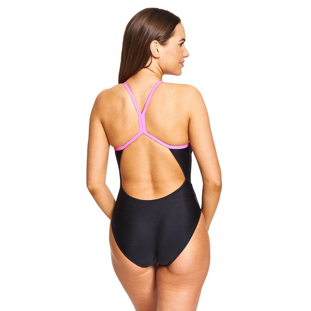 Bild von Zoggs Empower Sprintback Damen Badeanzug - Multi/Black