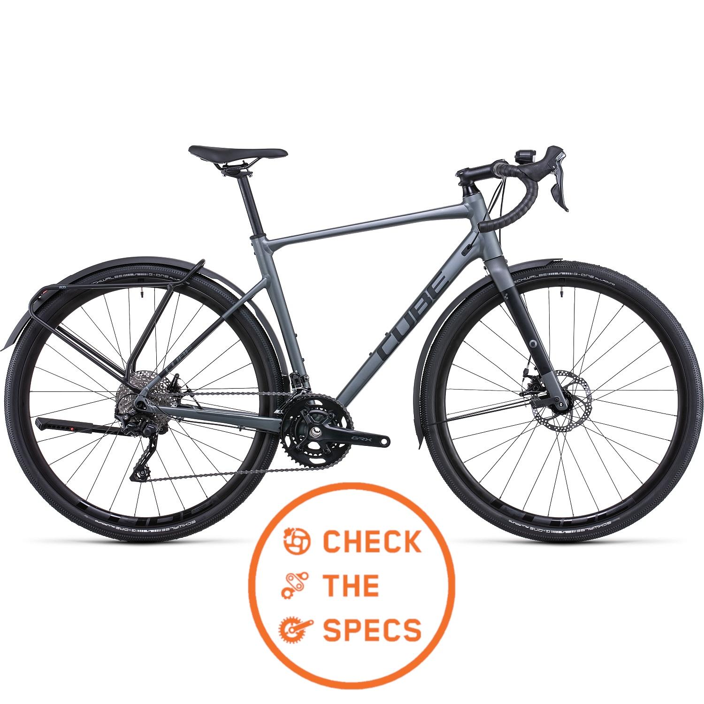 CUBE NUROAD Pro FE - Bicicleta de Gravel - 2022 - inkgrey/black A01