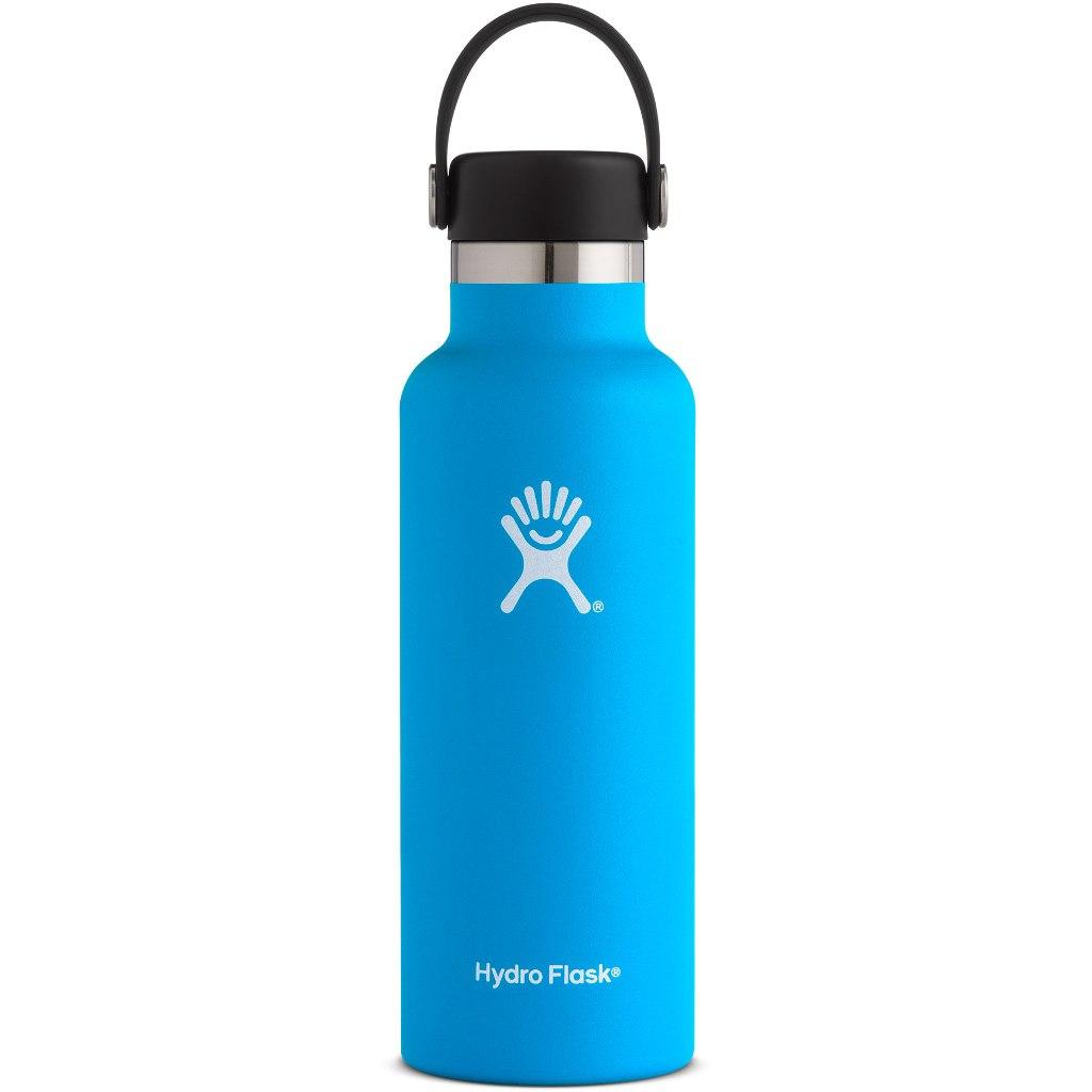 Hydro Flask 18 oz Standard Mouth Flex Cap Thermoflasche 532ml - Pacific