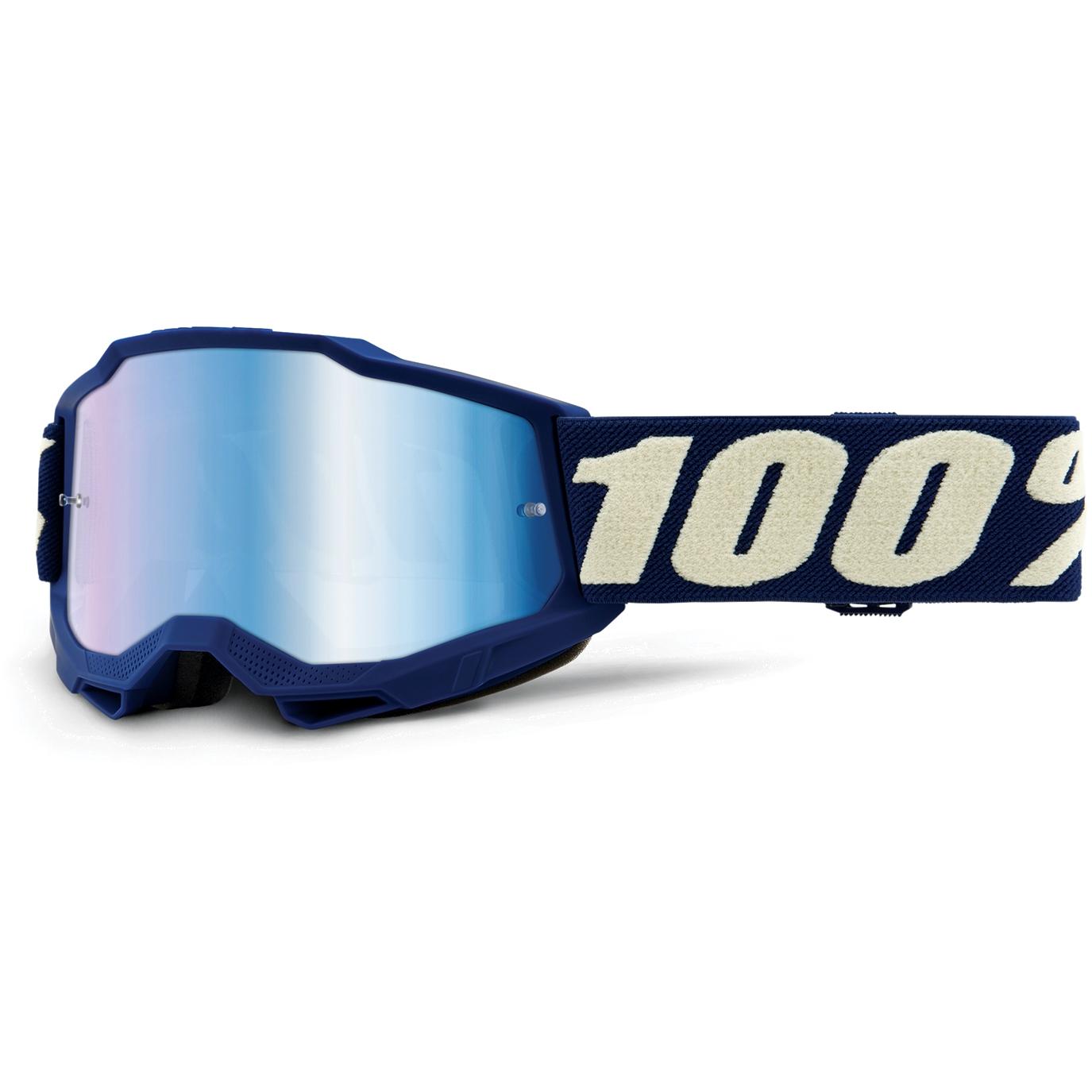 Imagen de 100% Accuri 2 Goggle Mirror Lens Gafas para niños - Deepmarine - Blue Mirror