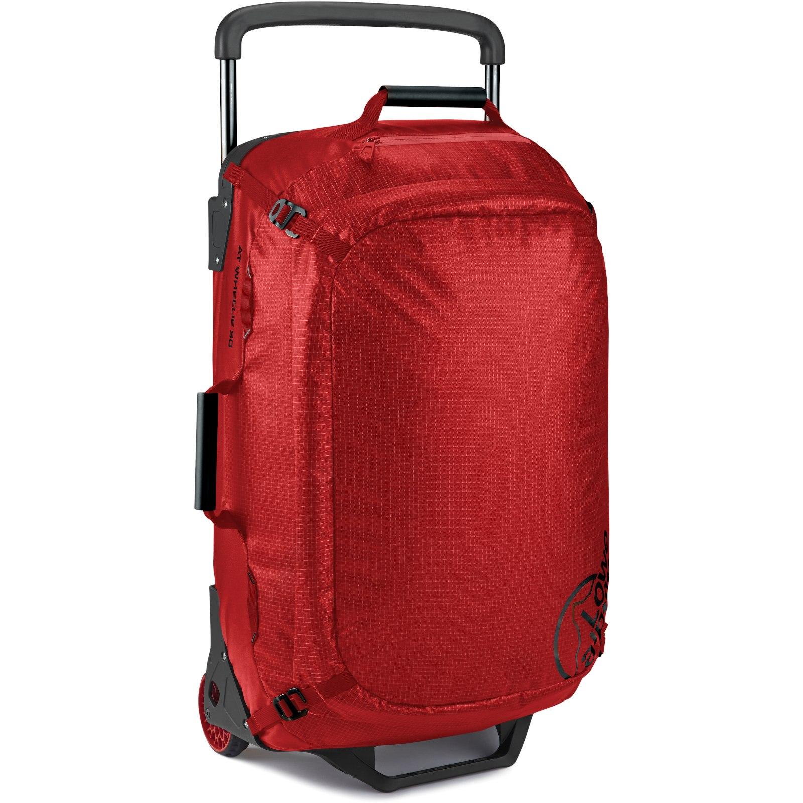Lowe Alpine AT Wheelie 90 Duffle Bag - Pepper Red/Black