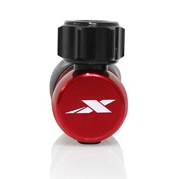 Bild von XLAB Nanoflator Adapter für CO2 Kartuschen - rot