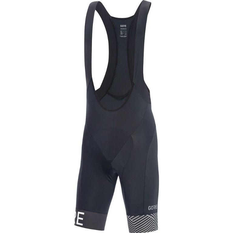 GORE Wear C5 Optiline Bib Shorts+ - black/white 9901