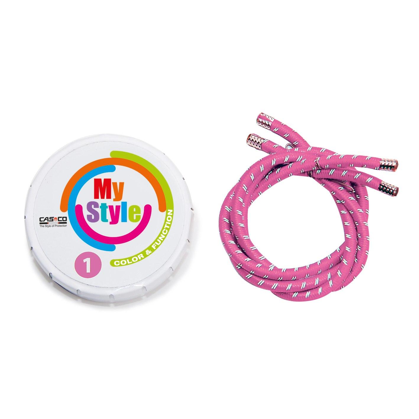 Casco MyStyle Stripes - Reflective - pink