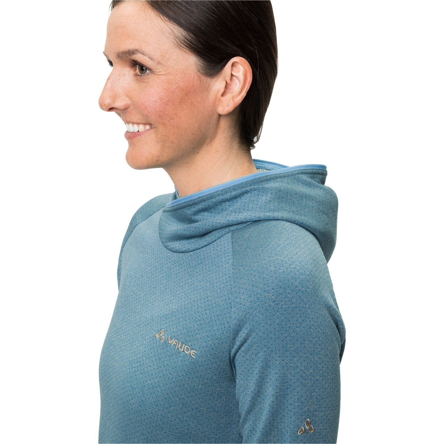 Bild von Vaude Miskanti LS T-Shirt II Damen - arctic blue