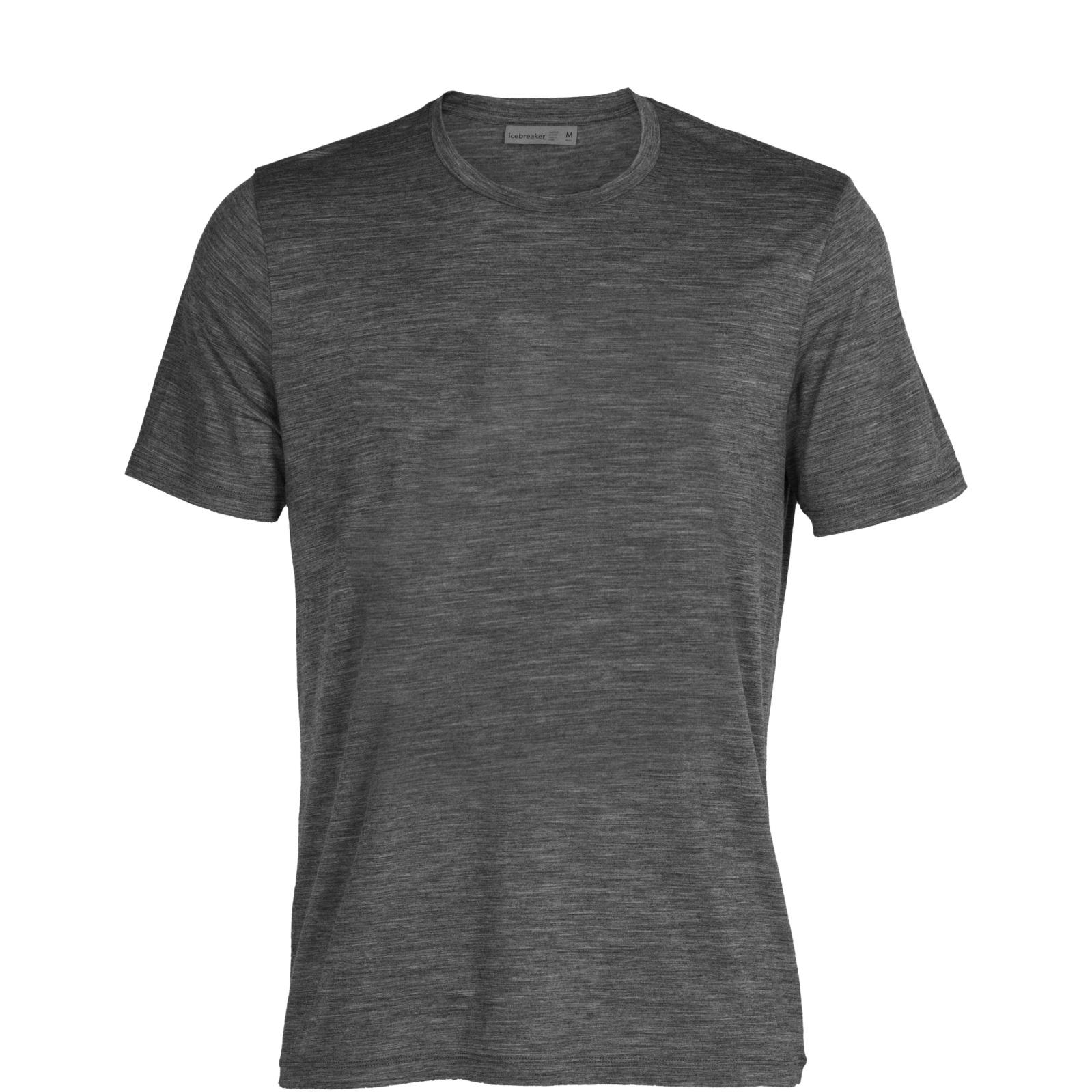 Produktbild von Icebreaker Tech Lite II Herren T-Shirt - Gritstone Hthr