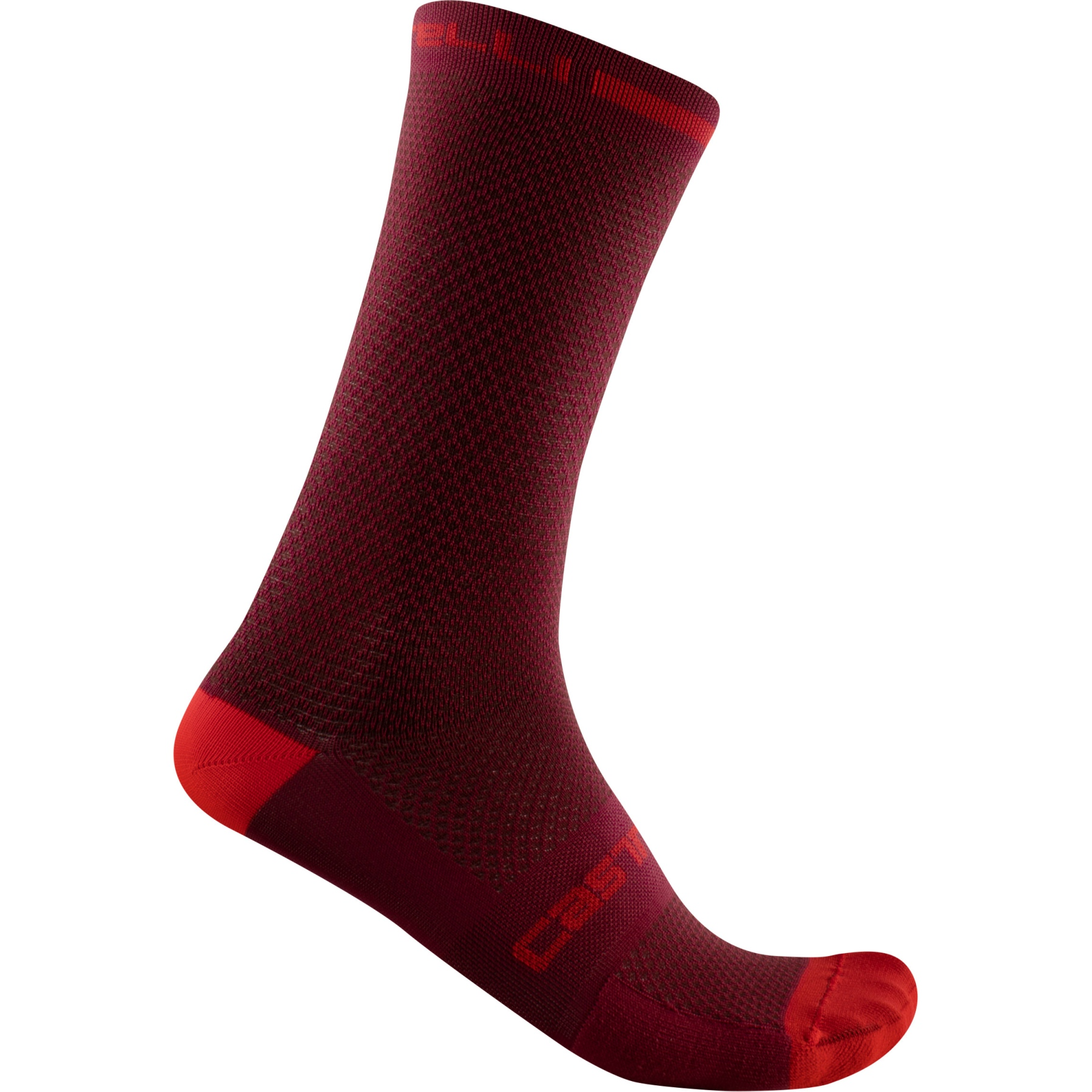 Castelli Superleggera T 18 Socks - bordeaux 421