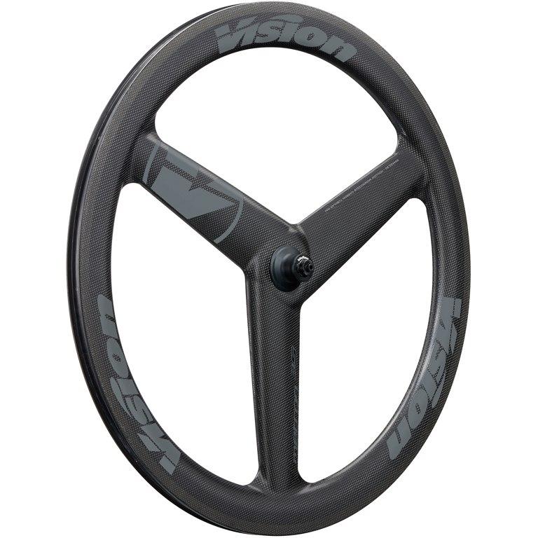 Vision Metron 3-Spoke Carbon Vorderrad Drahtreifen - schwarz