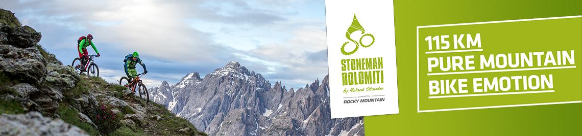 Bezwinge mit dem Mountainbike 115 km in den Dolomiten!
