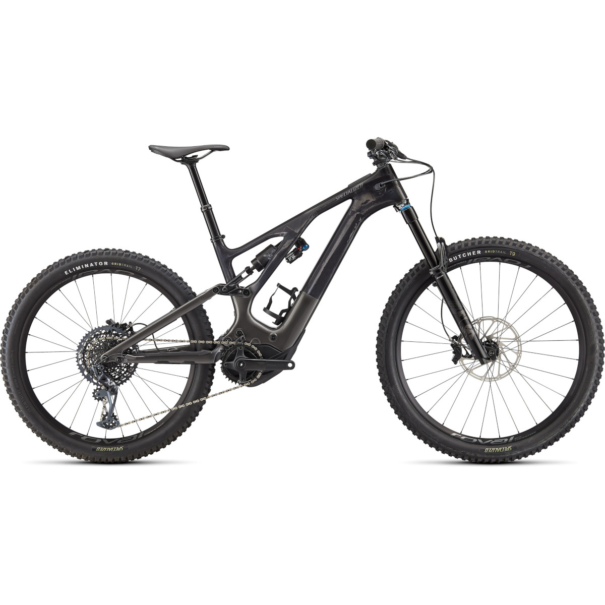 Foto de Specialized TURBO LEVO EXPERT - Bicicleta eléctrica de montaña Carbono - 2022 - carbon / smoke / black