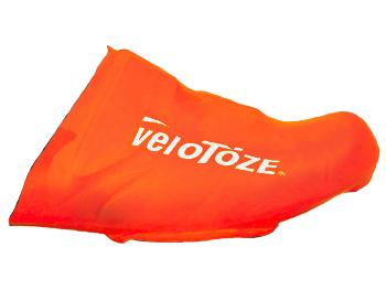 veloToze Toe Cover Road - viz-orange