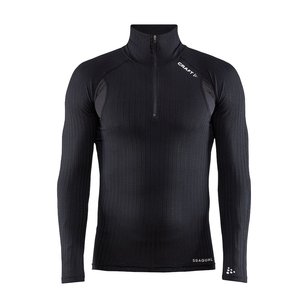 Produktbild von CRAFT Active Extreme X Zip Herren Langarmshirt - Black