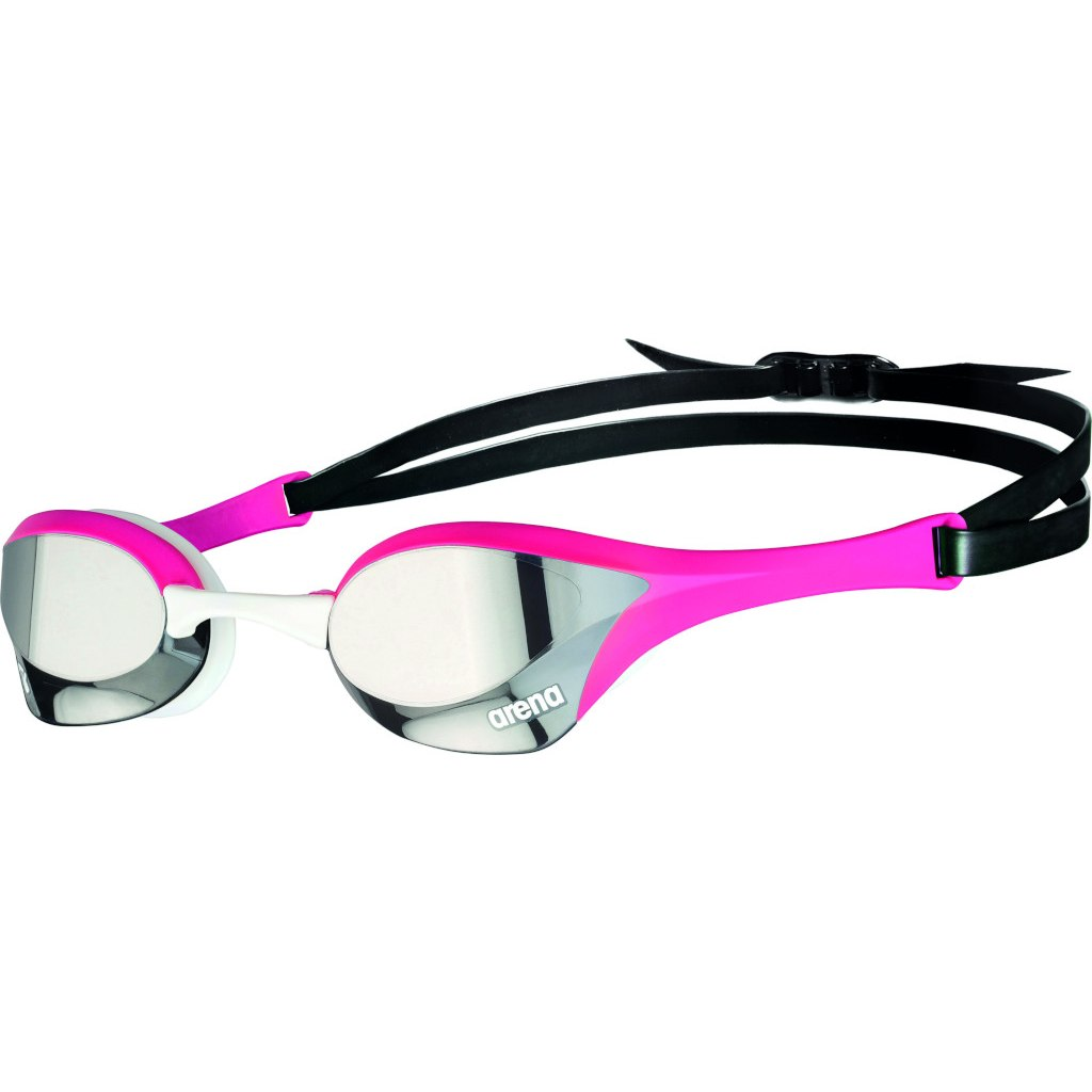 arena Cobra Ultra Swipe Mirror Silver/Pink Swimming Goggle