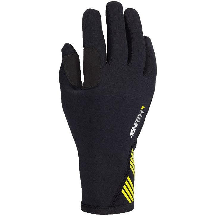 45NRTH Risor Merino Liner Gloves - black