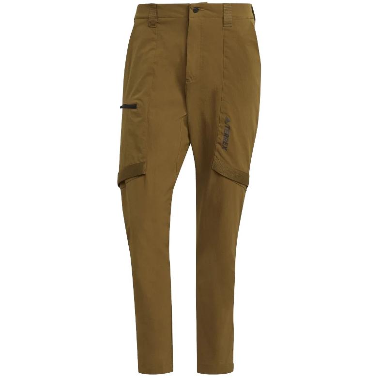 adidas Men's TERREX Zupahike Hiking Pants - Long - wild moss GM4769