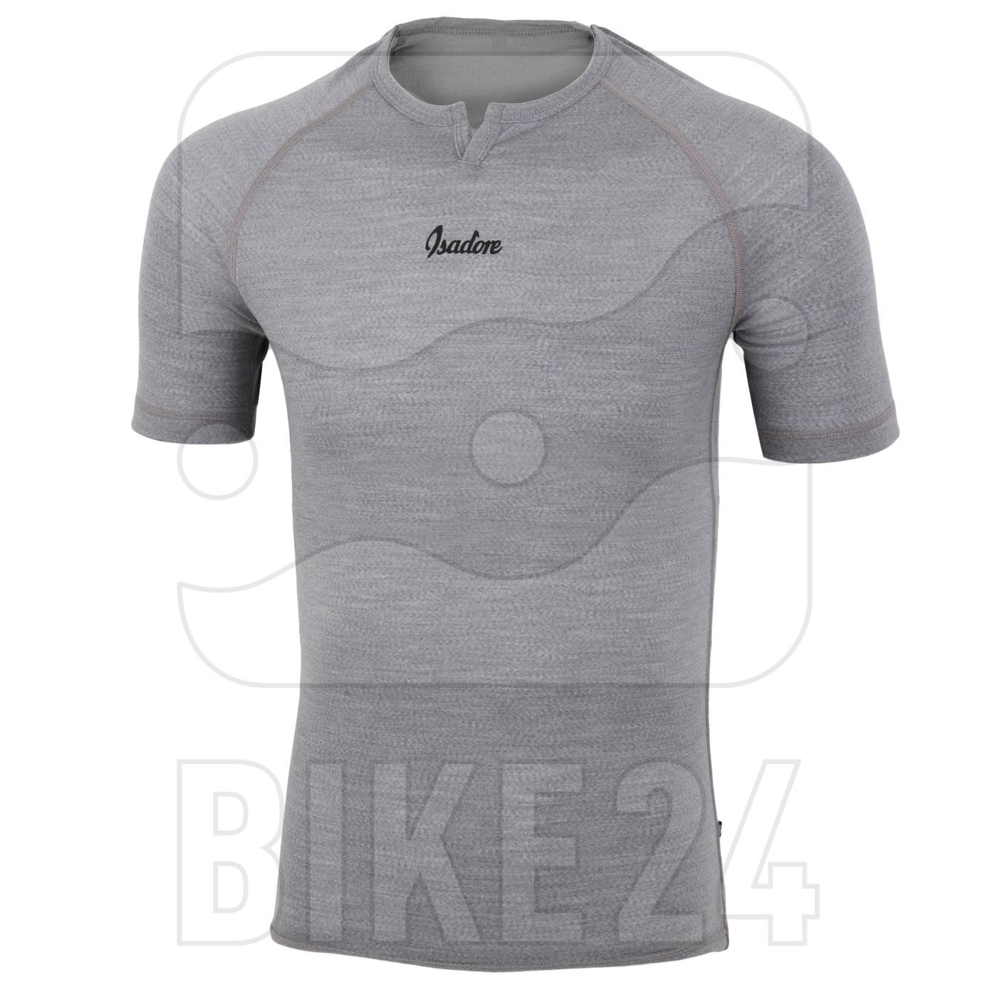 Isadore 100% Merino Short Sleeve Baselayer - Grey