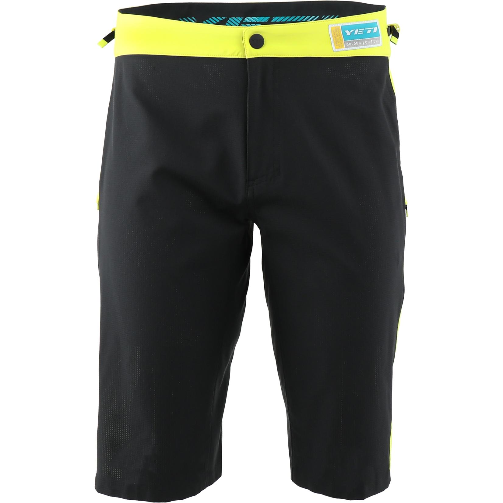 Yeti Cycles Enduro Shorts - Lime