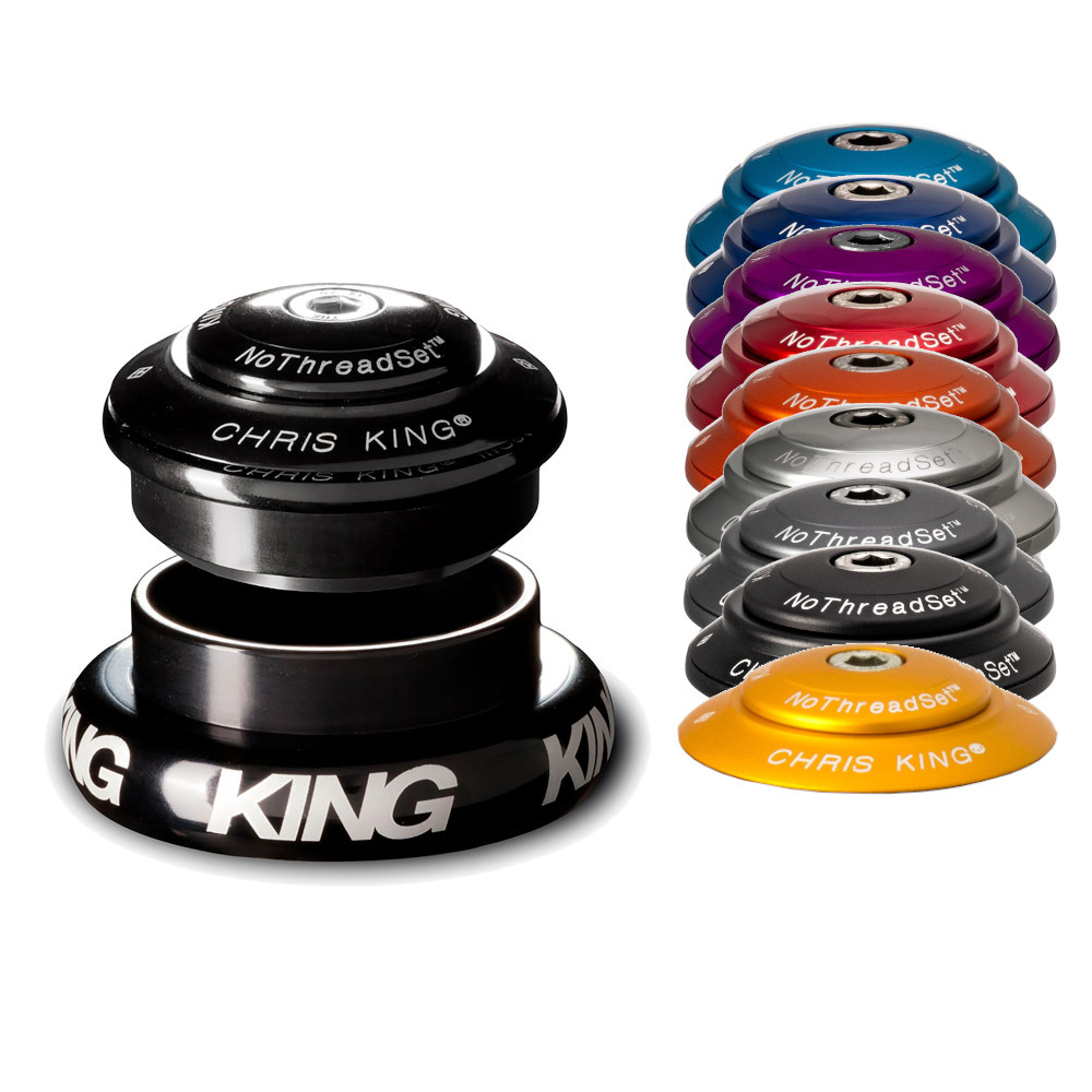 Foto de Chris King InSet i7 Grip Lock Mixed Headset for tapered Steerers - ZS44/28,6   EC44/40