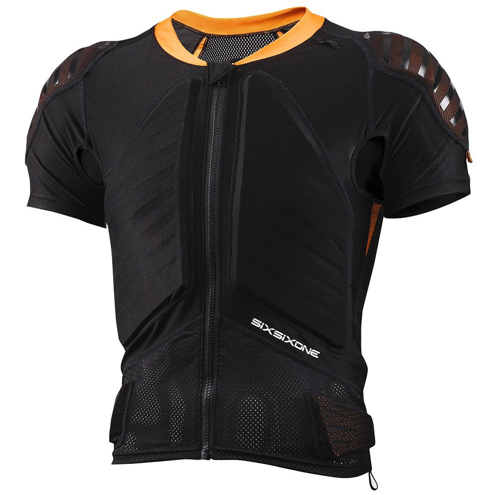 Produktbild von SIXSIXONE Evo Compression Jacket, kurzarm Protektorenjacke - black