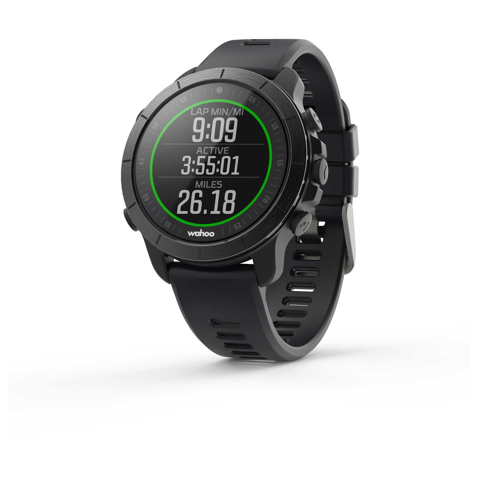Wahoo ELEMNT RIVAL GPS Multisportuhr - Stealth Grey