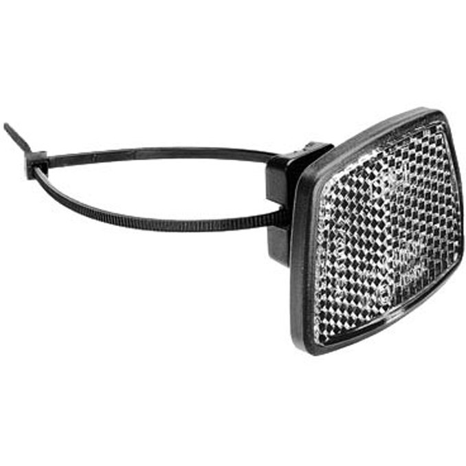 Busch + Müller Front Reflector with Tie Wrap Mounting - 313/5K