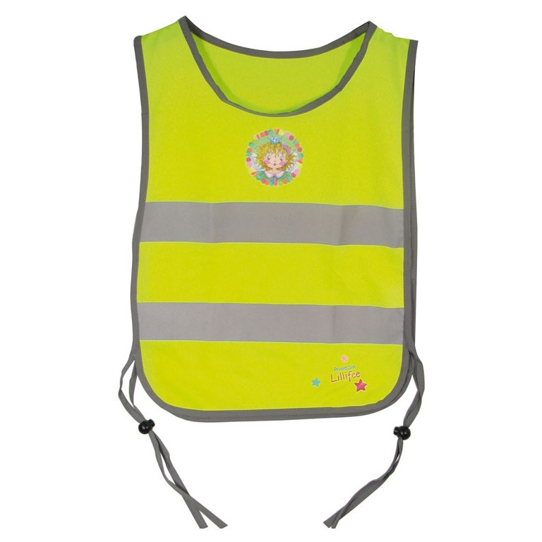 B-Lite Vest Kid Lillifee Reflective Safety Vest for Kids - neon yellow