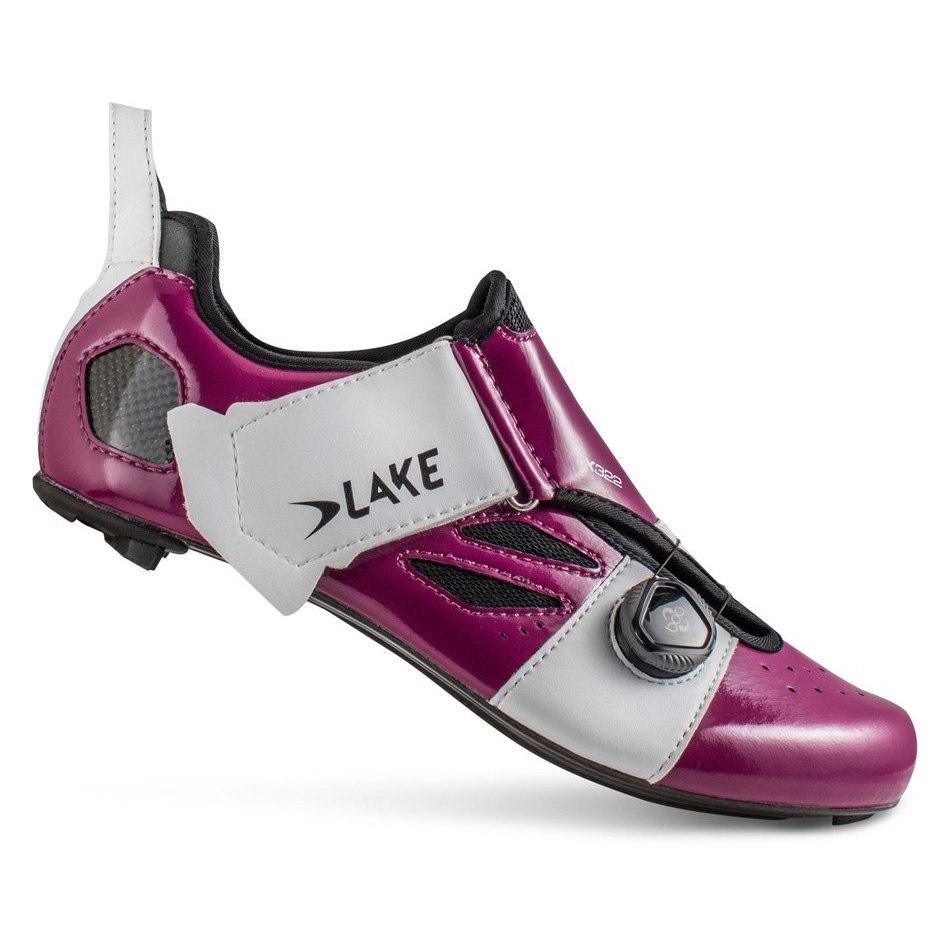 Lake TX322 Triathlon Shoe - purple / white