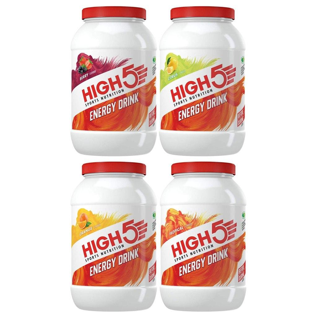 High5 Energy Drink - Carbohydrate Beverage Powder - 2200g