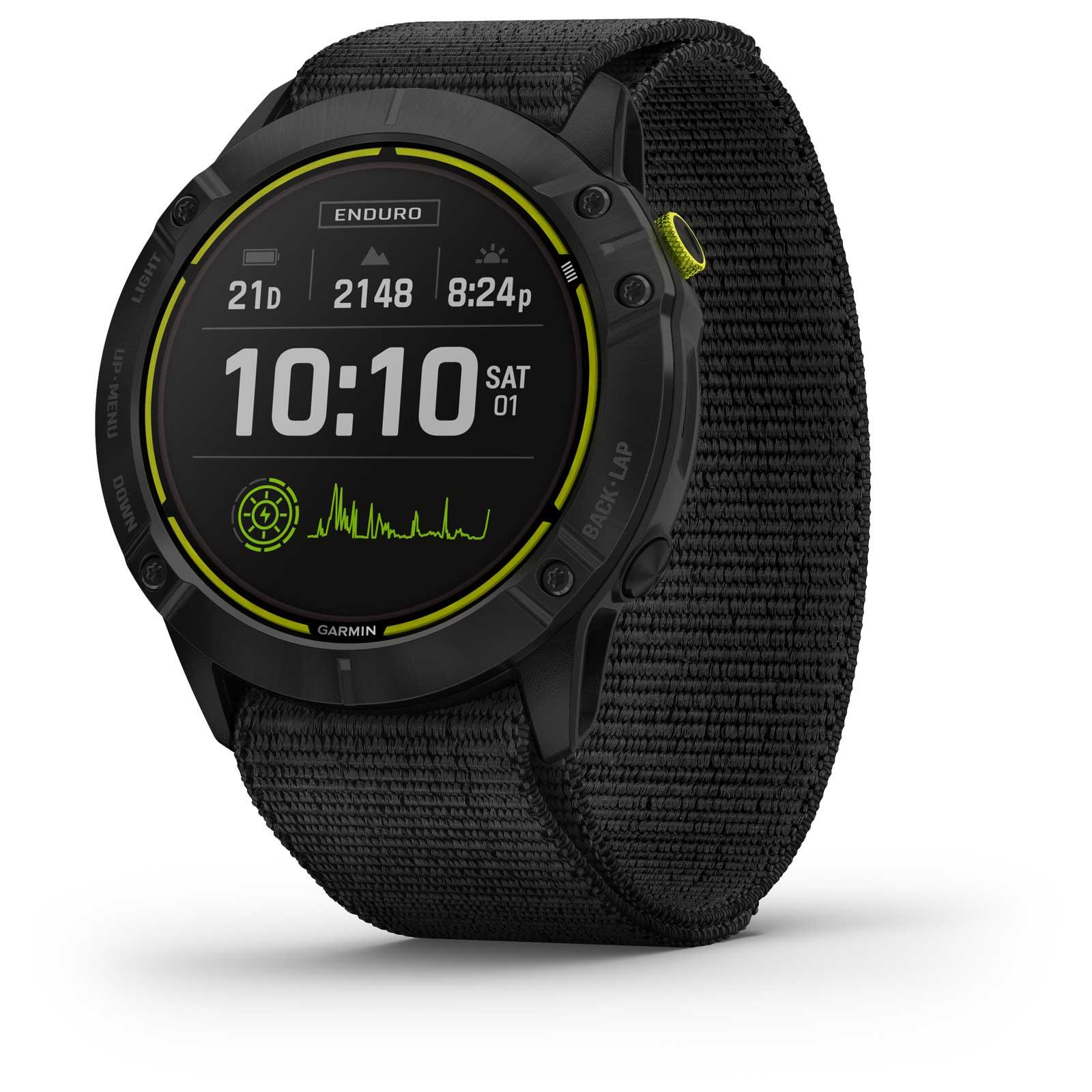 Garmin Enduro Reloj Deportivo GPS - negro/gris pizarra titanio