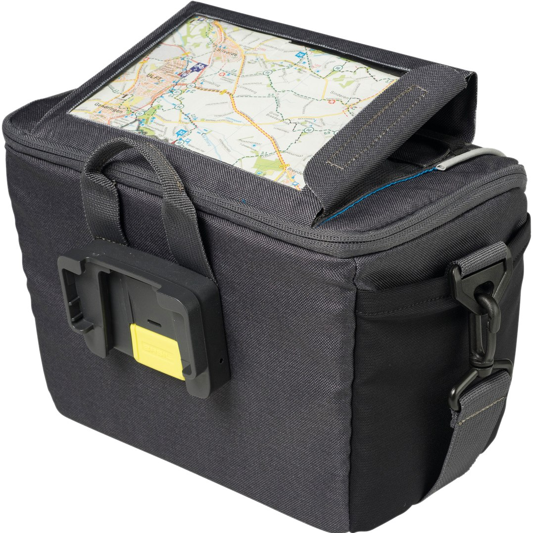 Image of Basil Sport Design Handlebar Bag - graphite