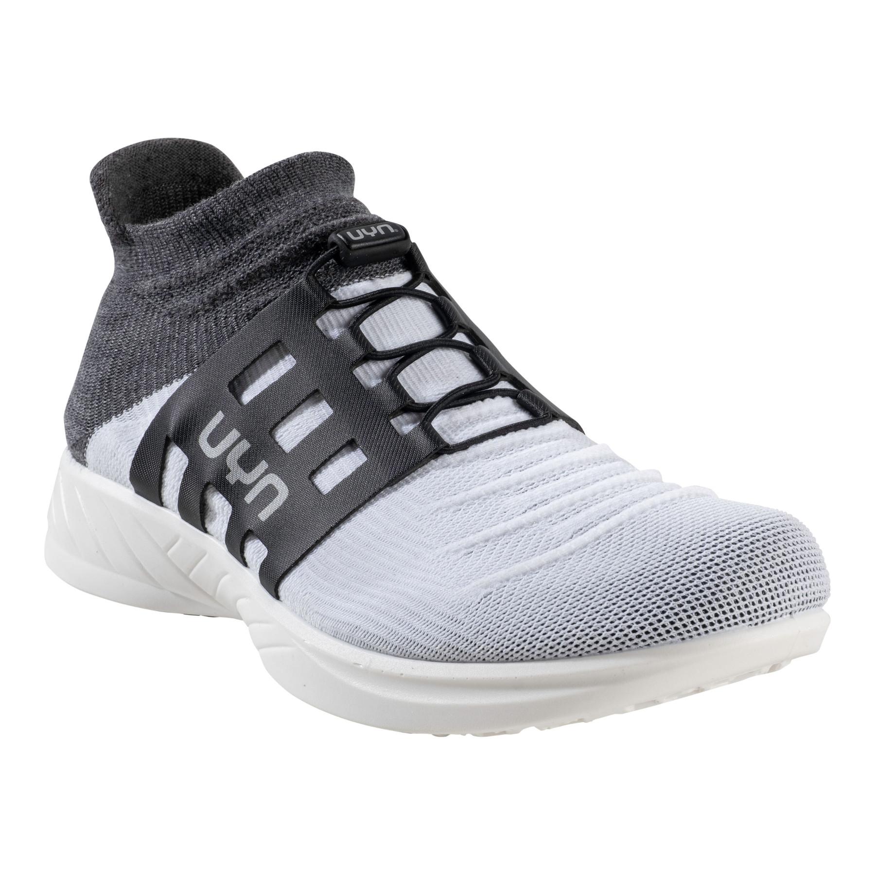 UYN X-Cross Tune Man Running Shoes - White/Grey