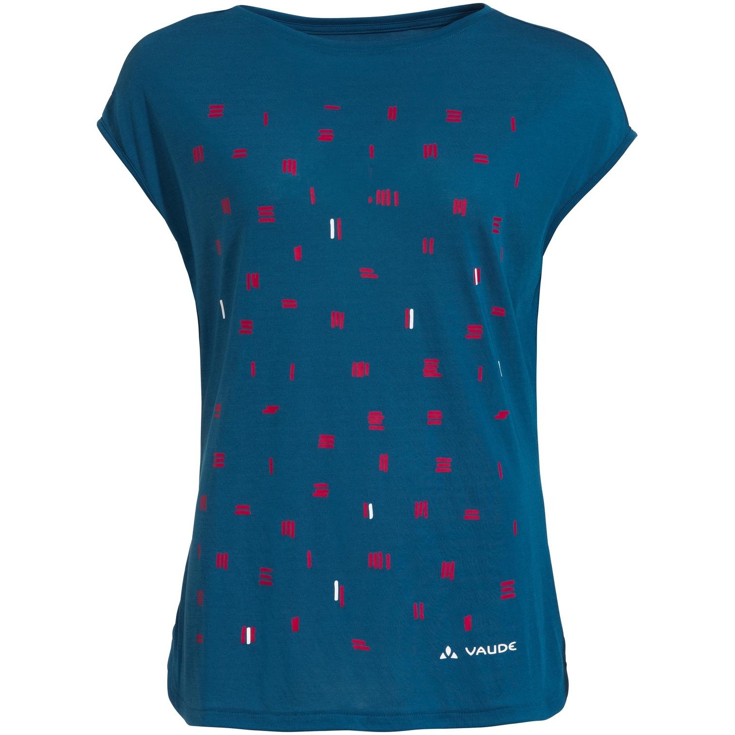 Vaude Tekoa Damen T-Shirt - kingfisher uni