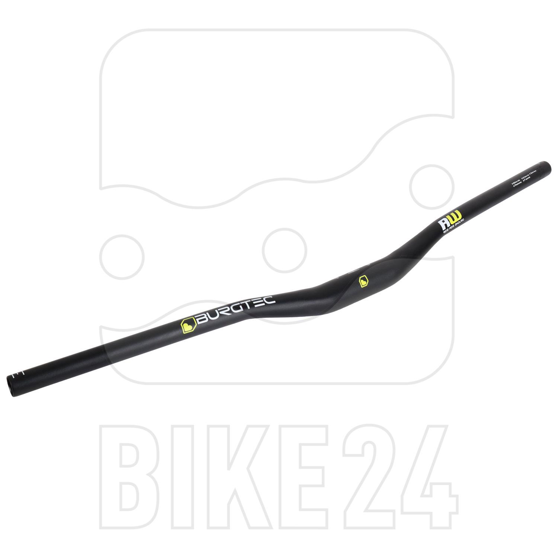 Burgtec RideWide 35.0 MTB-Handlebar - 800mm - 22.5mm Rise - black